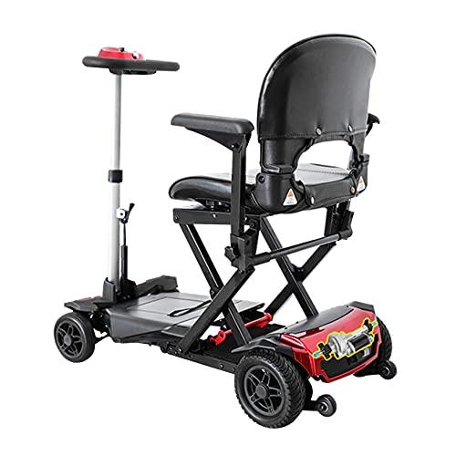 Mobiler Roller Mit Elektromotor Mobiler Rollstuhl, Tragbarer Elektroroller ;R Erwachsene, Stilvolle Und Helle Led-Beleuchtung, Leichte Lithiumbatterie, Von Der Fluggesellschaft Zugelassen