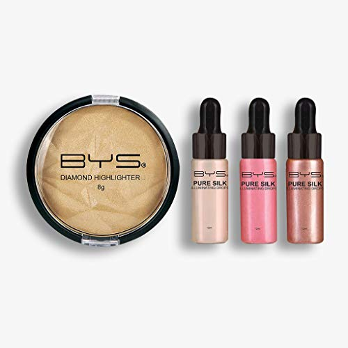 Iluminador Rostro  marca BYS Cosmetics