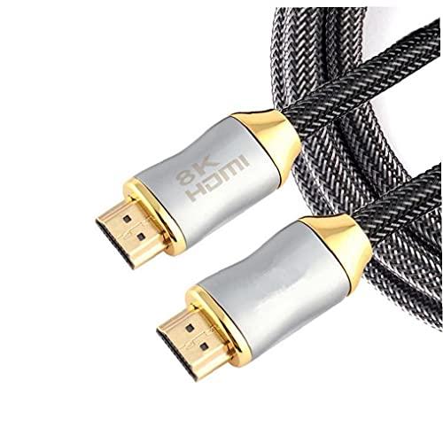 8K HD Cable de alta velocidad 48GBPS de soporte de cable 8K...