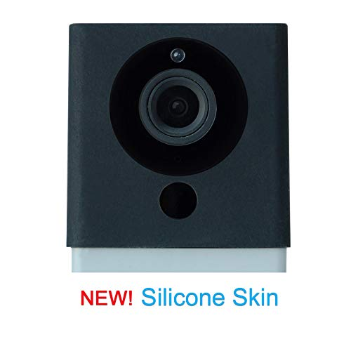 Wyze Skin - The Silicone Skin for Wyze Cam! Enhance and Protect Your Camera with This Premium Silicone Cover (Fits Wyze Cam and Wyze Cam v2, Does NOT Fit Wyze Cam Pan) Black Silicon Sleeve Cover