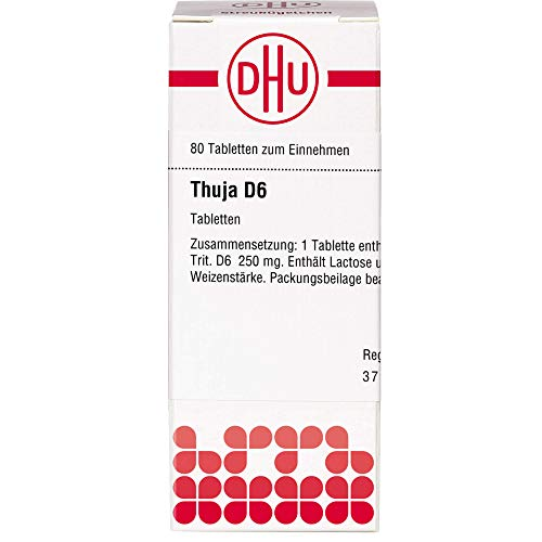 THUJA D 6 Tabletten 80 St