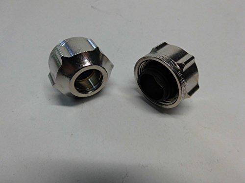 Klemmring-Verschraubung 2er Set 15 mm für Kupferrohr weichdichtend