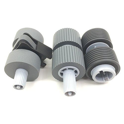 5SET X OKLILI PA03338-K011 PA03576-K010 PA03338-K010 Pick Roller + Brake Roller Pickup Roller Compatible with fi-6750 fi-6750S fi-6770 fi-6670 fi-5750C fi-5650C fi-5750 fi-5650 Economy Save !