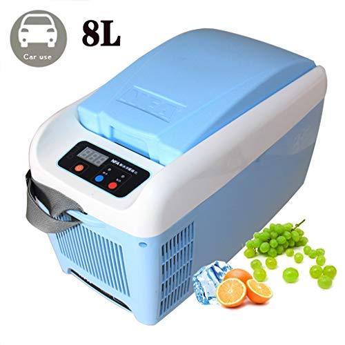 Preisvergleich Produktbild Lyy - 8866 Kühlschrank Kühl Gefrier Gefrierschrank Auto kühlschrank,  tragbare Thermoelektrische Kfz-Wärme- & Kühl-Box,  8 L,  12 V,  für Auto und Camping Autokühlschrank