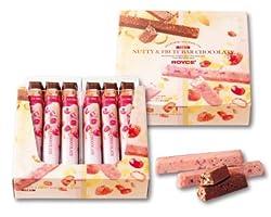 ナッティ&フルーツバーチョコレート【各6本入り】