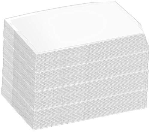 General Office Laminier-Taschen: 100 Visitenkarten-Laminiertaschen, Stärke 125mic (Super-Sparpack) (Heißlaminier-Folientasche)