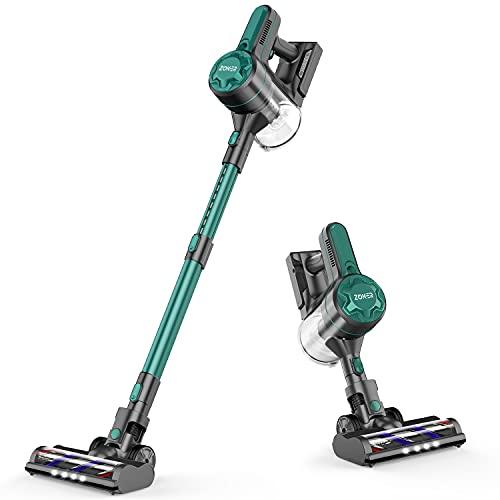 ZOKER Cordless Vacuum,Genuine American Products Genuine,4 in 1 Lightweight Handheld Vacuum for Hardwood Floor Pet Hair (Black)