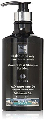 H&B Shampoo/Duschgel für Herren, 780 ml