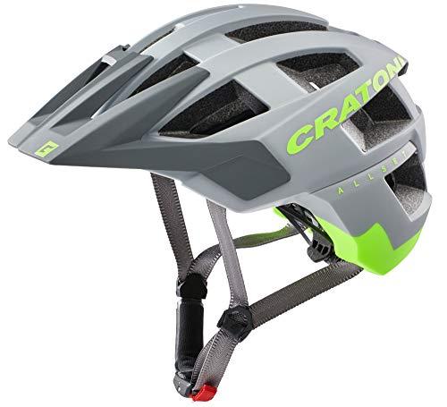 Cratoni - Casco para bicicleta de montaña, talla M/L, 58-61 cm, color...