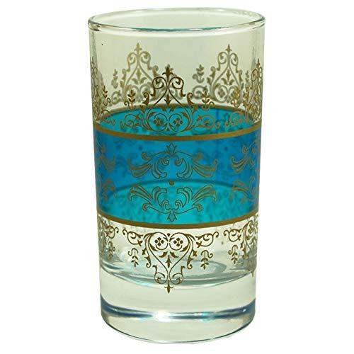 Shehérazade Teegläser, Blau, 6 Stück