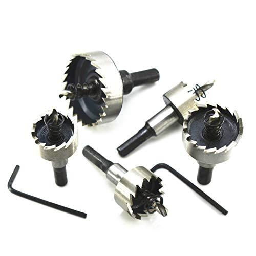 Bostar Juego de sierra de agujero de broca HSS de alta calidad herramientas de aleación de metal de acero inoxidable de 16-30 mm