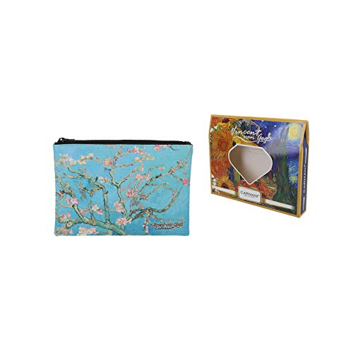 Carmani – Medium Damen Make-up-Tasche, Reisetasche, Handtaschen-Organizer, Geldbörse, Multifunktions-Kulturbeutel für Frauen mit Vincent Van Gogh