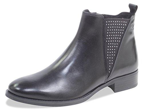 CAPRICE Damen 9-9-25316-21 022 Chelsea Boots, Schwarz (Black Nappa 22), 39 EU