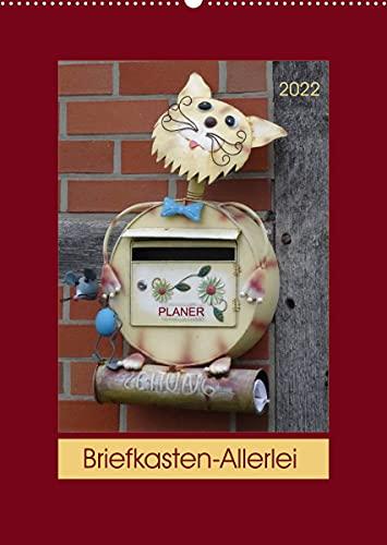 Briefkasten-Allerlei (Wandkalender 2022 DIN A2 hoch)