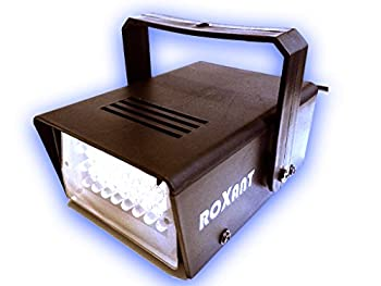 Roxant Pro Mini LED Strobe Light with 24 Super Bright LEDs With Variable Speed Control - ROX-ST1
