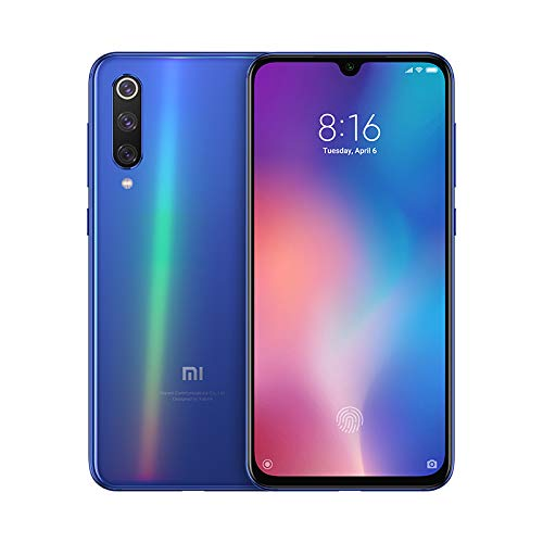 Xiaomi Mi 9 SE Smartphone mit 14, 5 cm (5, 9 Zoll) AMOLED-Display (Octa-Core, Qualcomm Snapdragon 712; 2, 8 GHz, 6 GB RAM, 64 GB ROM, Triple Kamera 13 + 48 + 8 MP, Android) ozeanblau
