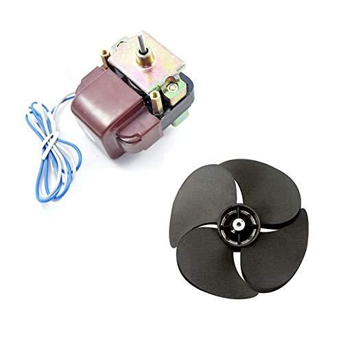 XIAOFANG Frigorífico Congelador Vitrina la Paleta del Ventilador de refrigeración del Motor en Forma for SANYO Motor IS3215EAB A000724 220V 4W refrigerador
