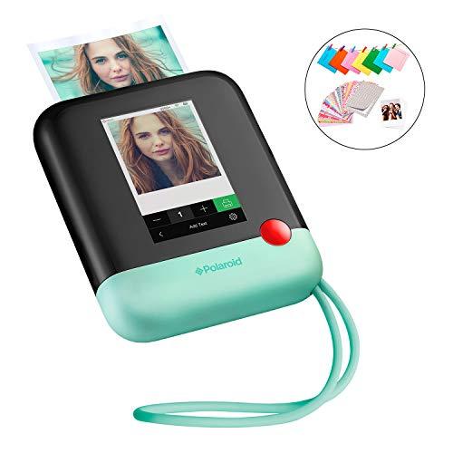 Polaroid Pop 2.0 Cámara digital de impresión instantánea (Verde) 20 Mp, Pantalla Táctil de 3,97 In, Wi-Fi incorporado, Tecnología Zink Zero Ink y nueva aplicación, fotografías de 9 x 11 cm