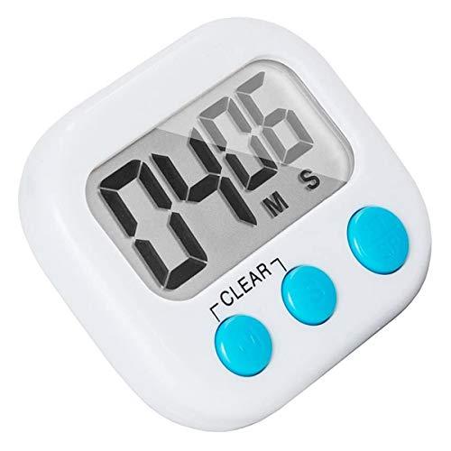 iFCOW Temporizador de cocina magnético con interruptor de encendido/apagado, soporte de sonido cuenta atrás