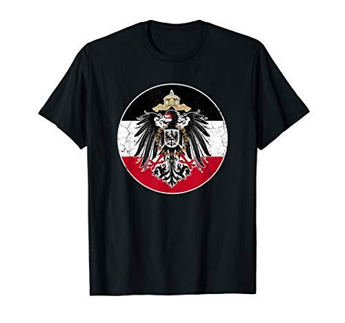 Deutsches Kaiserreich Flagge - Kaiserreich Deutschland T-Shirt