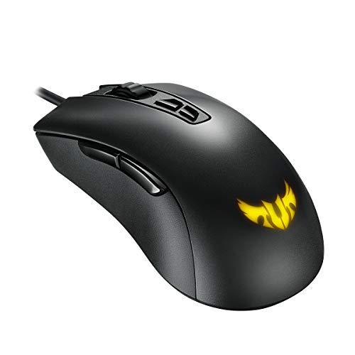 Asus TUF M3 Mouse Gaming Ottico, 7000 DPI, Design Ergonomico ambidestro, Aura Sync RGB, Interruttori Omron.