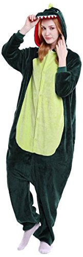 Everglamour 5055601171739 Onesie/Body Suit, Unisex-Adult, Green, Large