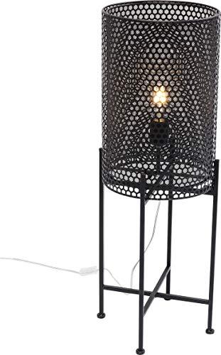 Kare Design Stehleuchte Cut 78cmm, Stehlampe für das Wohnzimmer aus Metall, Schwarze, Moderne Lampe im Industrial Style, verschiedene Ausführungen erhältlich (H/B/T) 78x29x29cm