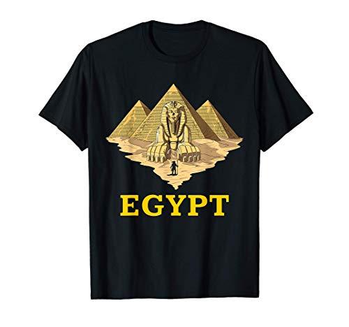 Pirámides Egipcias Esfinge Mitología Antiguo Egipto Camise