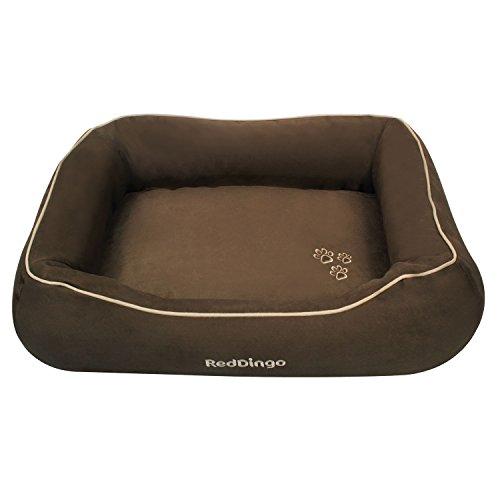 Red Dingo Kissen, oval, mit erhöhten Kanten, für Hunde