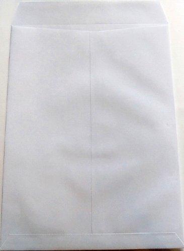 角6 ケント封筒/白80g/m A5サイズ 100枚 テープ付
