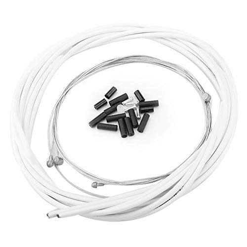 V GEBY Juego de Cables de Cambio de Bicicleta Cable de Cambio...