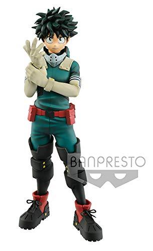 Banpresto-82984 My Hero Academia Deku Figura de Acción, multicolor (Bandai 82984)