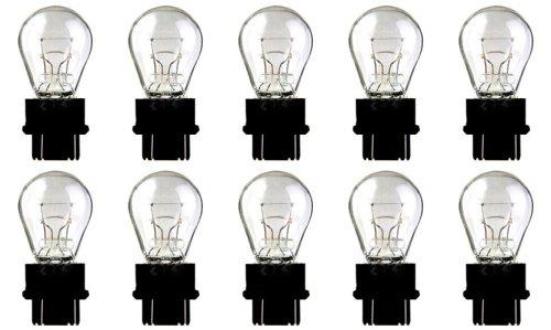 CEC Industries #3057 Bulbs, 12.8/14 V, 26.88/6.72 W, W2.5x16q Base, S-8 Shape (Box of 10)