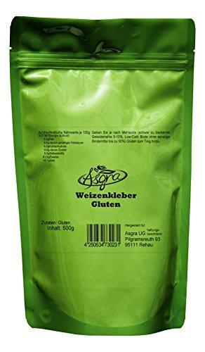 Asgra Gluten - Weizenkleber/Klebereiweiss - 500g