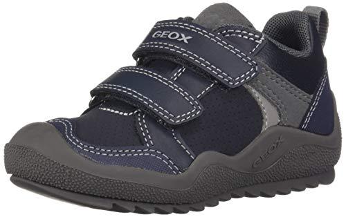 Geox J Artach Boy A, Zapatillas Niños, Azul (Navy/Grey C0661), 32 EU
