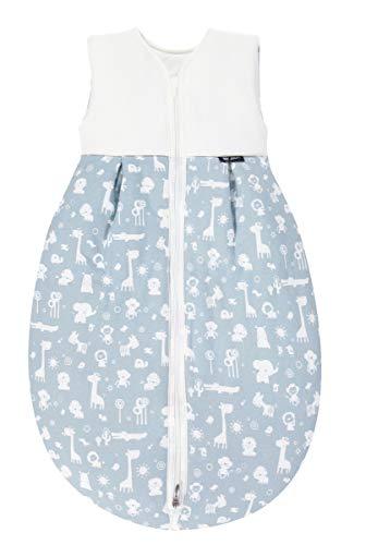 Alvi Baby Mäxchen Thermo Schlafsack | Baby-Schlafsack ohne Ärmel | Winterschlafsack | Alvi Außensack wattiert