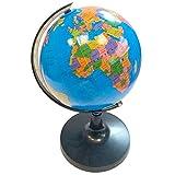 Acan Globo terráqueo 21 cm de Idioma española,Divertido y Educativo para Uso en el hogar y la Escuela, niños/cumpleaños/Trabajo, Ideal para Decoraciones de hogar y Oficina.
