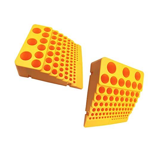 joyMerit - Juego de 2 destornilladores de cabeza hexagonal de 84 agujeros