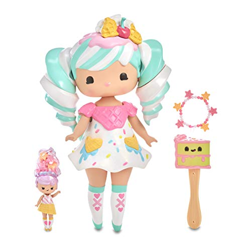 MGA Entertainment Secret Crush Sundae Swirl 13-inch Large Doll with Mini Doll Best Friend