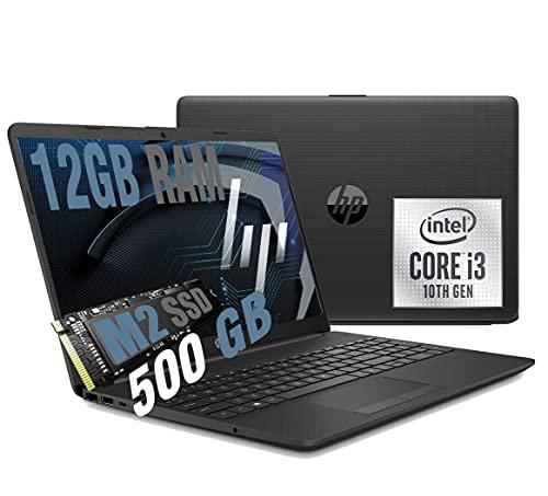 Notebook HP 250 G8 Portatile Display da 15.6   Cpu Intel core I3-1005G1 3,4Ghz  Ram 12Gb DDR4  SSD M2 500GB  Graphic Intel Uhd  Hdmi Wifi Bt 5.0 Usb 3.2 Type-C Rj-45 Windows 10 professional