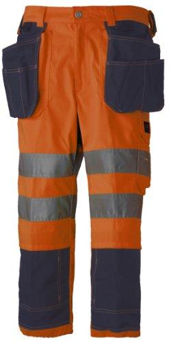 Helly Hansen 3/4 veiligheidsbroek Bridgewater Pirate Pant 76493 korte werkbroek 62 oranje