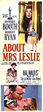 About Mrs. Leslie (1954)