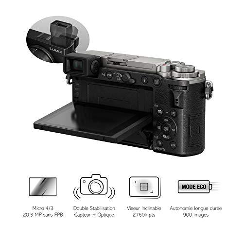 Panasonic DCGX9EFS DSL-Kamera, Schwarz/silberfarben