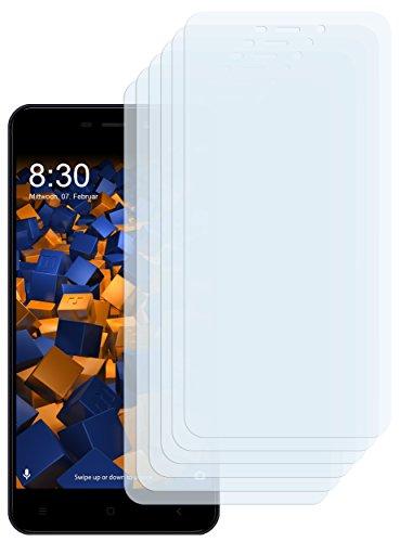 mumbi Schutzfolie kompatibel mit Xiaomi Redmi 4A Folie klar, Bildschirmschutzfolie (6X)