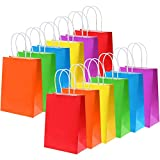 Tatuo 24 Pieces Gift Bags Kraft Paper Candy...