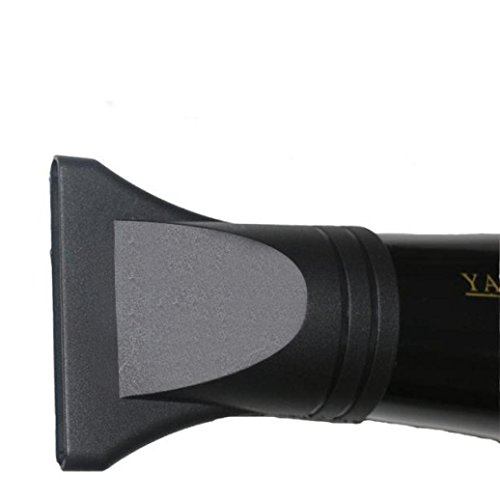 Hunpta Boquilla concentradora estrecha de repuesto para secador de pelo plano y secado de salón de plástico (negro)