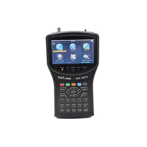 Satlink WS6979Edition 2Misuratore di campo Combo DVB S2DVB T2+ spettro DVB S DVB S2
