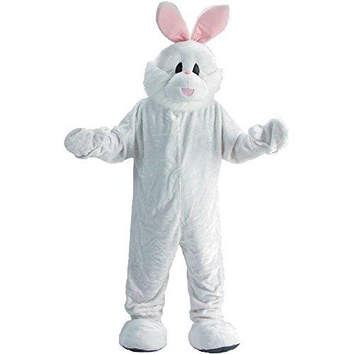 Dress Up America Costume de mascotte de lapin de Pâques des adultes