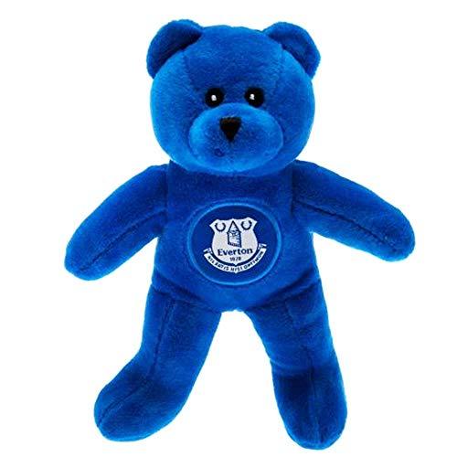 Everton FC Oso de Peluche Oficial (Oso de Juguete Suave de 20 cm de Altura)