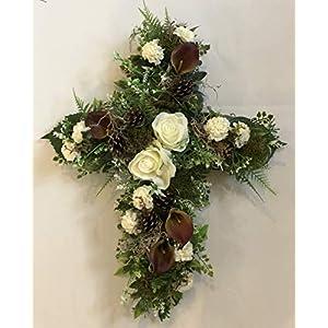 memorial flowers, cemetary flowers, arificial
